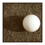 Sepia Golf Ball Study IV Posters av Jason Johnson