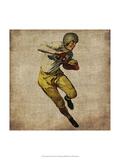 Vintage Sports III Premium Giclee-trykk av John Butler