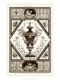 Sepia Pergolesi Urn I Prints by Michel Pergolesi