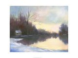 Winter Glow Art by Mary Jean Weber