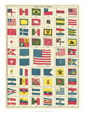 Flags of All Nations III Posters