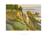 The Bluffs, Santa Monica, California Giclee Print by Michael G. Miller