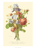 Plentiful Bouquet I Prints by T.L. Prevost