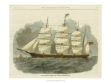 Antique Clipper Ship IV Posters