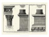 Cornice Tempio di Vesta Giclee Print by Giovanni Battista Piranesi
