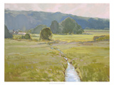 Summer Pasture II Giclee Print by Stephen Calcasola