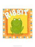 Ribbit Posters by Megan Meagher