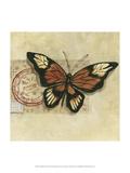 Le Papillon III Print by Marianne D. Cuozzo