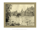 On the River IV Giclee Print by Ernest Briggs