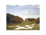 Late Season at Bethpage Black Giclee Print by Michael G. Miller