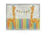 Carnival Giraffes Prints by Chariklia Zarris