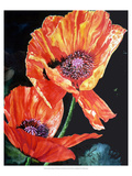 Summer&#39;s Poppy Giclee Print by Hanna Lore Koehler