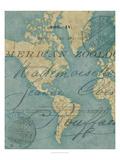 World Travels I Poster von Chariklia Zarris
