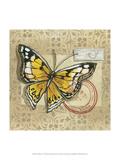 Le Papillon IV Prints by Marianne D. Cuozzo