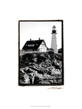 Portland Headlight I Print by Laura Denardo