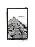 Spring Point Light, Maine II Prints by Laura Denardo