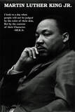 Martin Luther King Jr. (Character Quote) Art Poster Print Poster