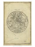 Daniel Diderot - Antique Astronomy Chart I - Tablo