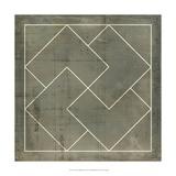 Geometric Blueprint III Kunst