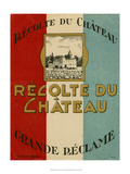 Recolte Du Chateau - Tablo