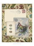 Romantic Ephemera I Prints