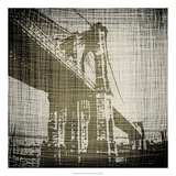 Bridges of New York I Art by Ethan Harper