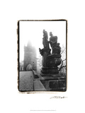 Charles Bridge in Morning Fog II Prints by Laura Denardo