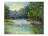 A Bend in the River Giclee Print by Mary Jean Weber