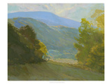 Berkshire Mountain View Giclee Print by Stephen Calcasola