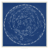 Stars and Constellations Chart Giclee Print