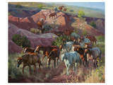 Into the Draw Premium Giclee Print by Jack Sorenson