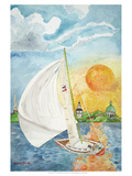 Day Sail Prints by Kaeli Smith