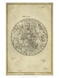 Daniel Diderot - Antique Astronomy Chart II Plakát