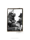 Imperial Lion, Beijing Poster by Laura Denardo