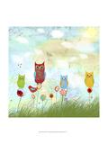 Owl Land Prints by Ingrid Blixt