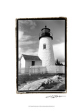 Pemaquid Point Light, Maine I Giclée-Premiumdruck von Laura Denardo