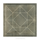 Geometric Blueprint VIII Print