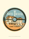 Vintage Travel Label IV Posters