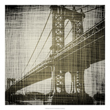 Bridges of New York II Posters by Ethan Harper