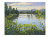 Oregon Reflections Giclee Print by Mary Jean Weber