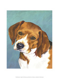 Dog Portrait, Beagle Posters by Jill Sands