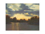 Evening Glow Giclee Print by Mary Jean Weber