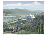 Lavender Tuscany II Print by Victor Valla