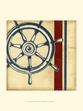 Americana Captain's Wheel Posters by Ethan Harper