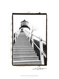 Owl's Head Light, Maine Posters by Laura Denardo
