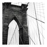 Brooklyn Bridge II Reproduction giclée Premium par Laura Denardo