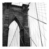 Brooklyn Bridge II Premium Giclee Print by Laura Denardo