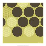 Forest Motif III Print by Erica J. Vess