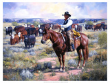 Watched Giclee Print by Jack Sorenson