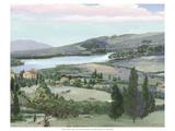 Lavender Tuscany I Kunstdrucke von Victor Valla